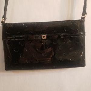 Kate spade black small cross body purse